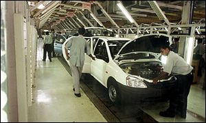 Indian automobile sector growth